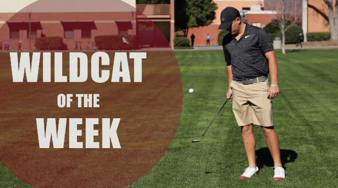 Wildcat of the Week, Josh McCollum Photo credit: Caitlyn Young