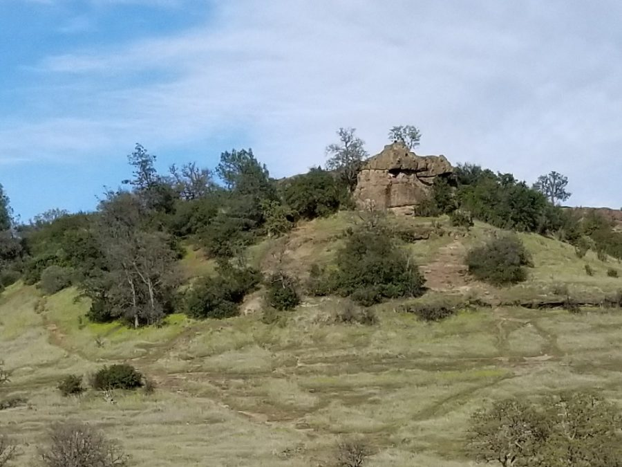 Monkey Face in Upper Bidwell Park is an unusual rock formation that has a trail leading to the top that many people hike. Photo credit: Ruby Larson