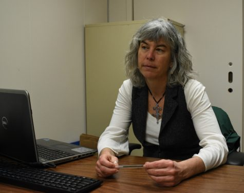 Professor Sue Hilderbrand discusses how she balances hosting a weekly radio show with producing a gun violence documentary while also teaching Chico State students.