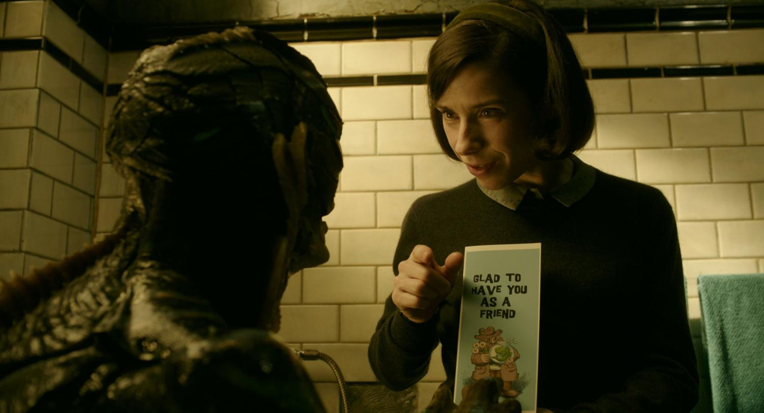 Doug Jones and Sally Hawkins star in