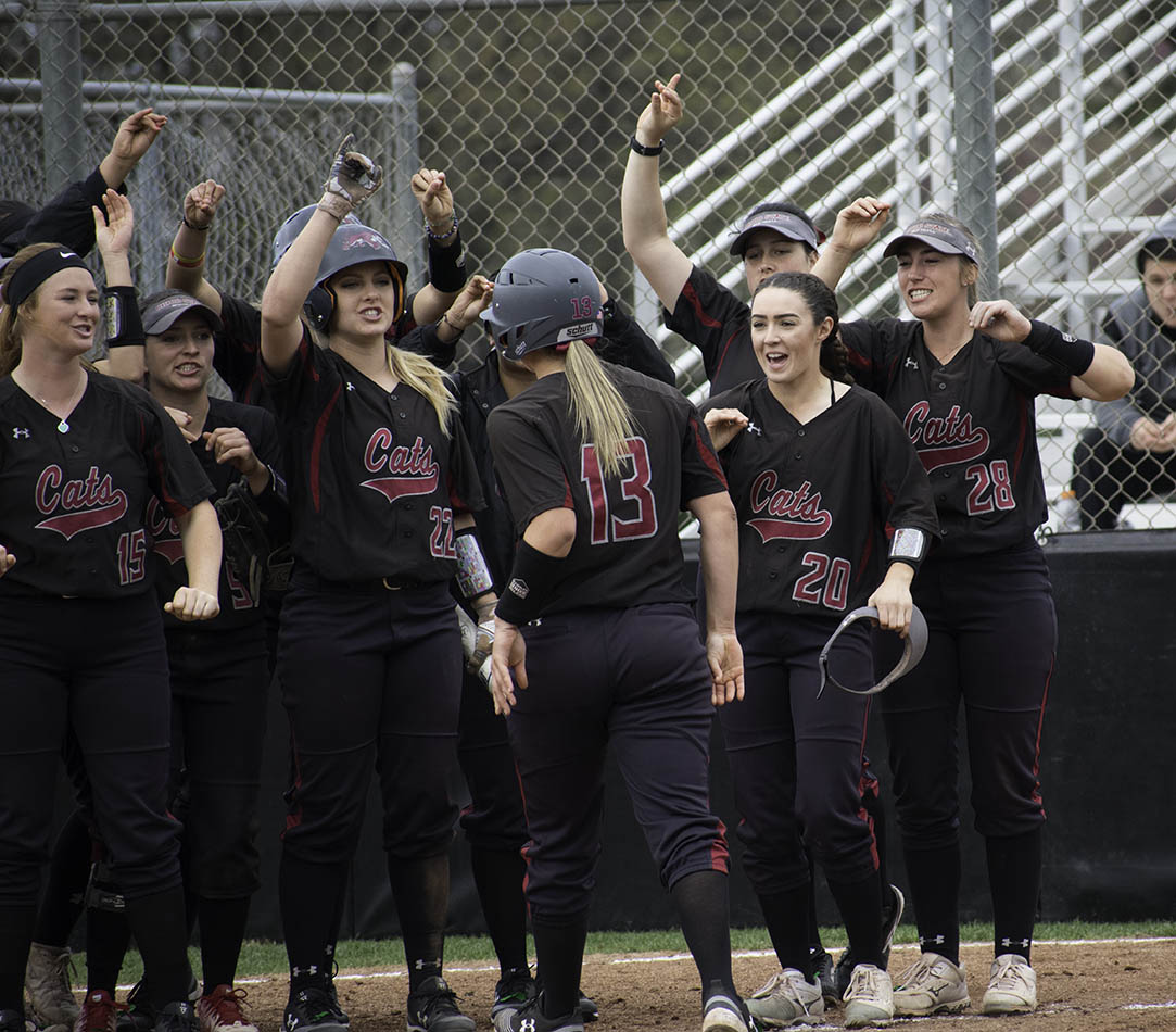 Wildcats set new home run record in series sweep of Monterey Bay