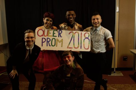 GSEC coordinators hosted the first ever Queer Prom at Chico State. Photo credit: Deisi Aguirre