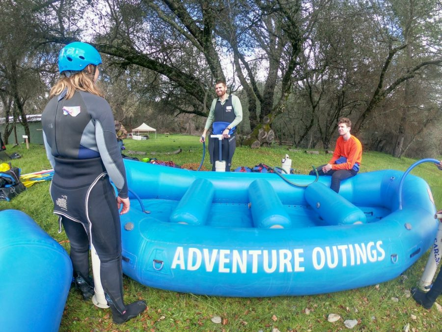 Adventure Outings on their Intro to Whitewater Rafting trip. Photo Courtesy: Keith Crawford