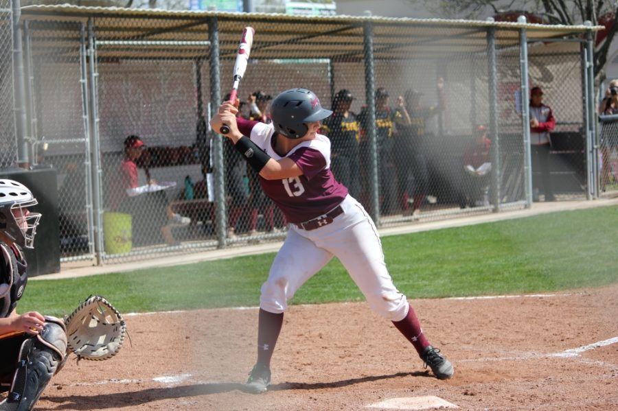 With Bailey Akins' next home run, she will break the single-season home run record at Chico State. Photo credit: Caitlyn Young