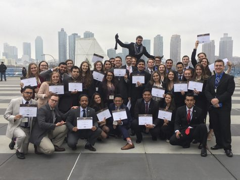 Chico State's Model United Nations Team won Outstanding Delegation for the ninth time in 11 years. Photo credit: John Crosby