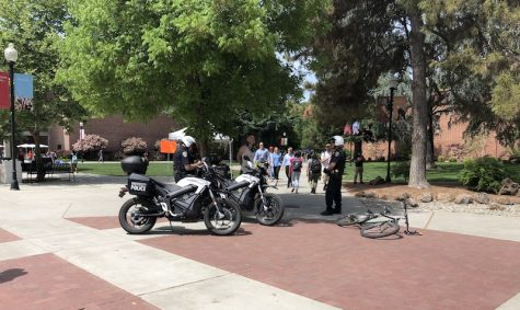 University Police report higher numbers of stopped cyclists on campus