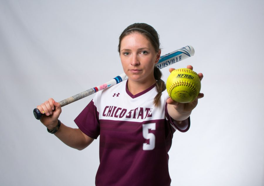 Chico State shortstop Wendy Cardinali has been one of the top Wildcat hitters from the leadoff spot in the order. Photo credit: Kate Angeles