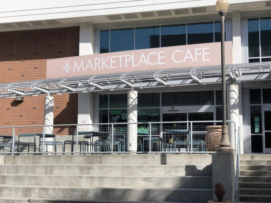 The Market Place Cafe is currently the main restaurant located in the BMU. Photo credit: Alejandra Fraga