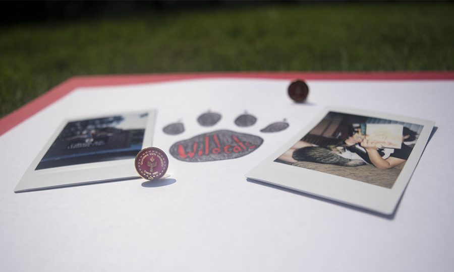 Two polaroid images to express memories made at Chico State Photo credit: Rachael Bayuk