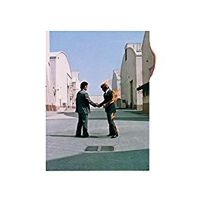 "The album cover artwork for ""Wish You Were Here"" by Pink Floyd. Image courtesy of Abbey Road Studios London."