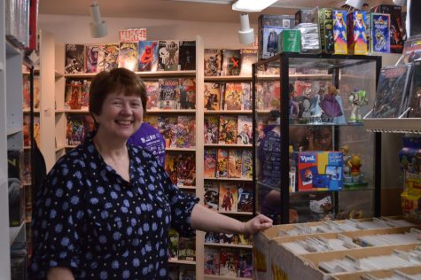 Beverly Reifert is the co-owner of Collectors Ink. Photo credit: Daelin Wofford
