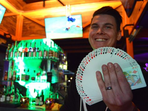 Magic is a longstanding tradition in Dean Waters' family. He has been practicing the art form since he was 18-years-old. Photo credit: Olyvia Simpson