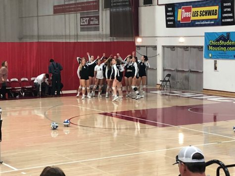 Chico volleyball breaks four game losing streak