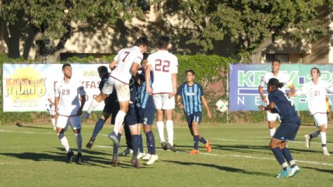 Chico State men's soccer plays against Sonoma State University on Friday. Photo credit: Josh Cozine