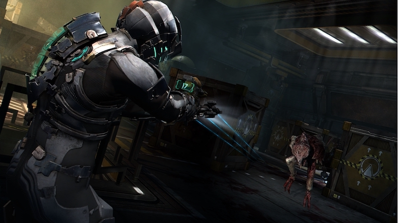 The+game+%22Dead+Space%22+has+plenty+of+atmosphere+and+jump+scares+to+satisfy+the+science-fiction+horror+fans.+Image+from+Electronic+Arts.