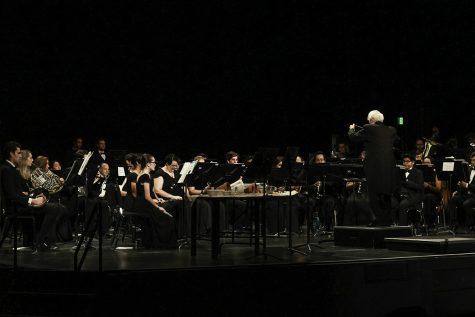 Students preform in the Laxson Auditorium on Saturday. Photo credit: Tara Killoran