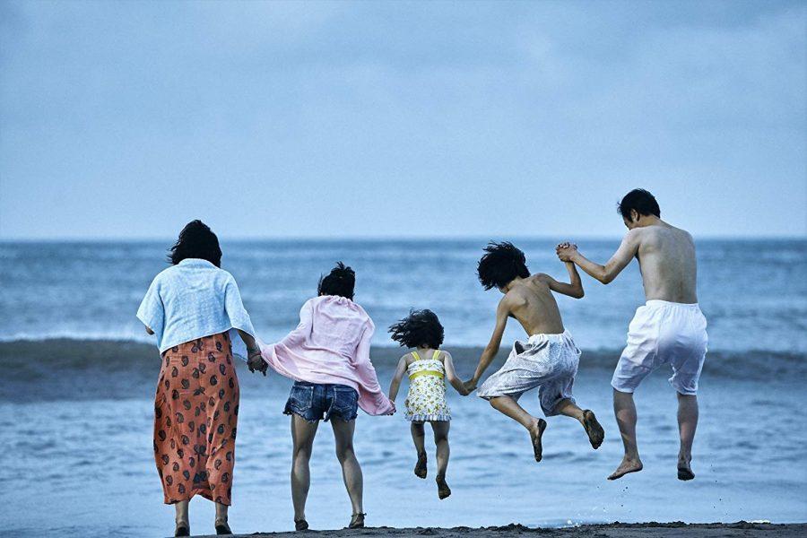 Left to right: Sakura Ando, Mayu Matsuoka, Miyu Sasaki, Kairi Jo, and Lily Franky star in