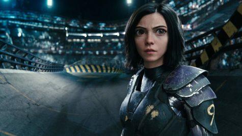 Rosa Salazar stars as Alita, a female cyborg, in