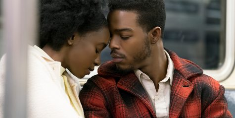 Kiki Layne (left) and Stephan James (right) star as Tish and Fonny in Barry Jenkins' newest film,
