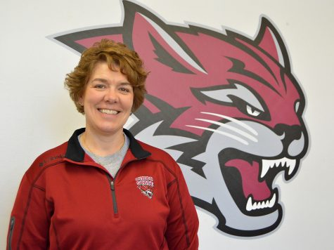 Anita Barker is one of nine women ever selected for the Division II West Region Athletic Director of the Year Award. She has worked for Chico State for 17 years alongside her husband, Scott Barker, the head athletic trainer. Photo credit: Olyvia Simpson