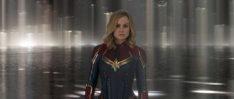 Brie Larson stars as Vers, an extraterrestrial warrior from the Kree planet, Hala.  IMDb website photo