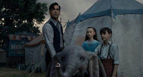 Colin Farrell, Nico Parker and Finley Hobbins star in