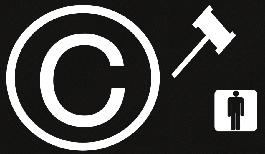 Copyright is meant to protect us, but is now being used against us.  Made using Piktochart Photo credit: Gage Northcutt