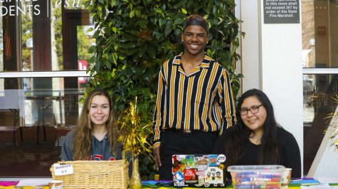 There were many members working the event and ensuring that students and speakers had a tremendous experience, on Saturday. Photo credit: Melissa Herrera