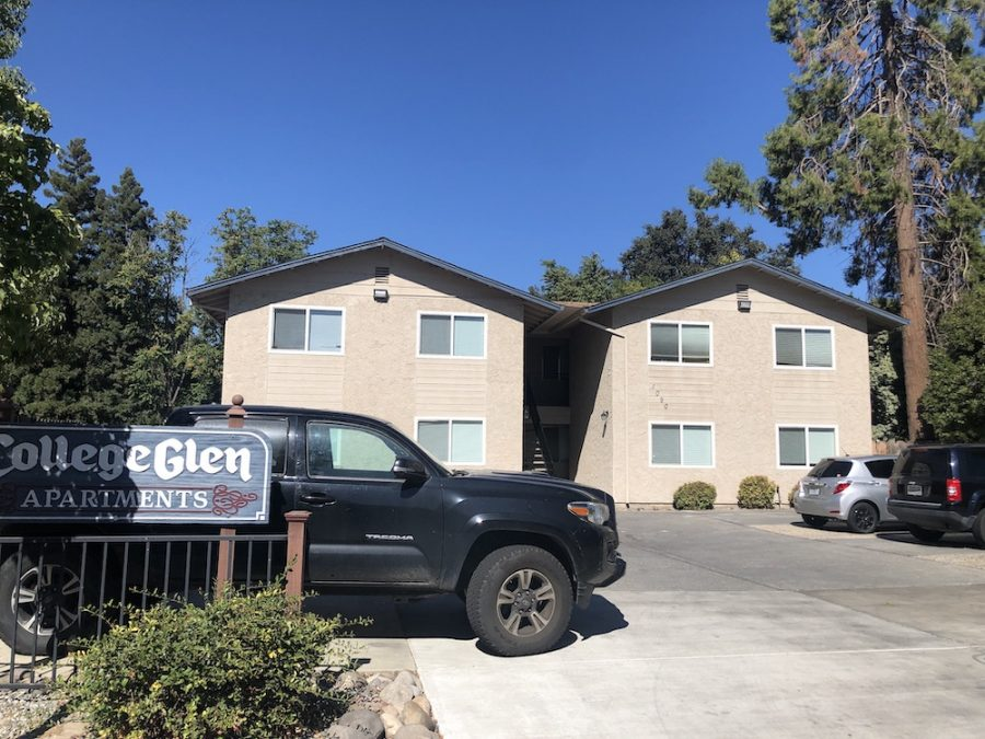 CollgeGlen apartments are the sight where the alleged molestation and burglary crime involving Martin Morales took place. Photo credit: Ricardo Tovar
