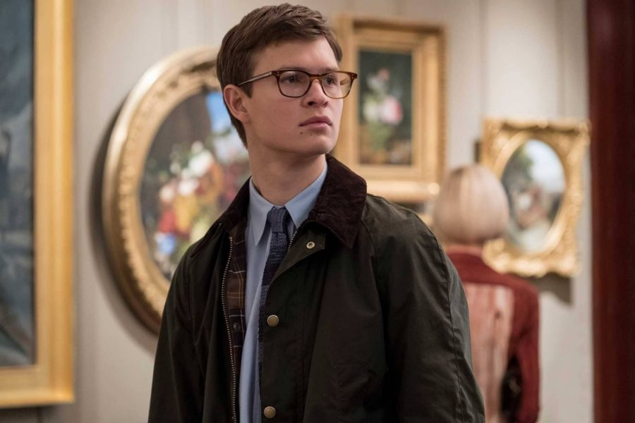 Ansel Elgort portrays Theo, a young man who was orphaned at a young age after his mother was killed in bombing.  Warner Bros. website photo