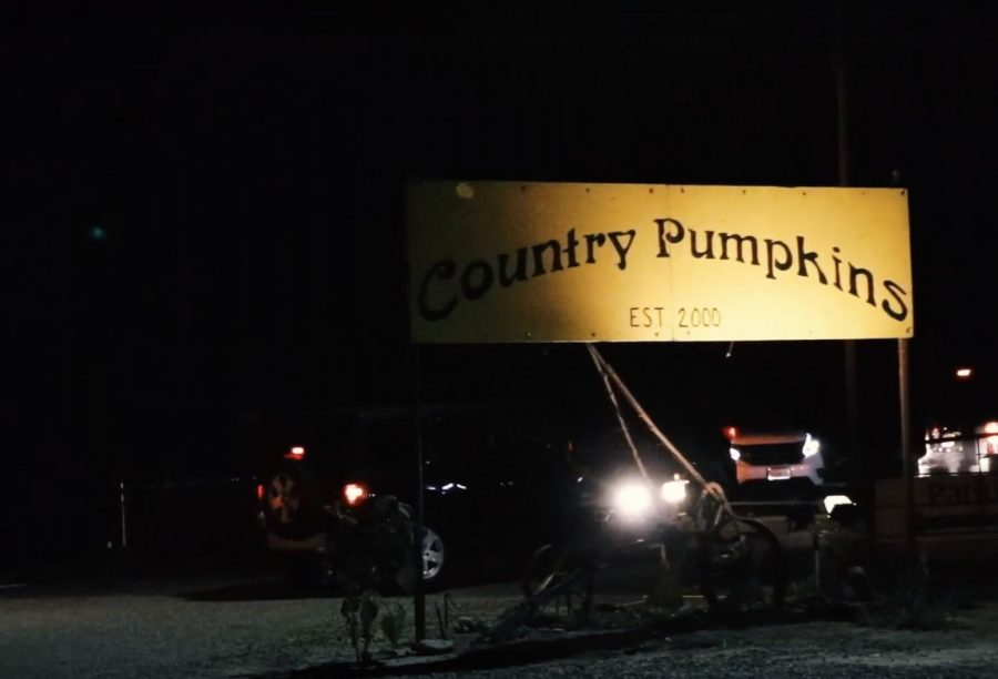 Country Pumpkins sign located in Orland, California. Photo credit: Brian Luong