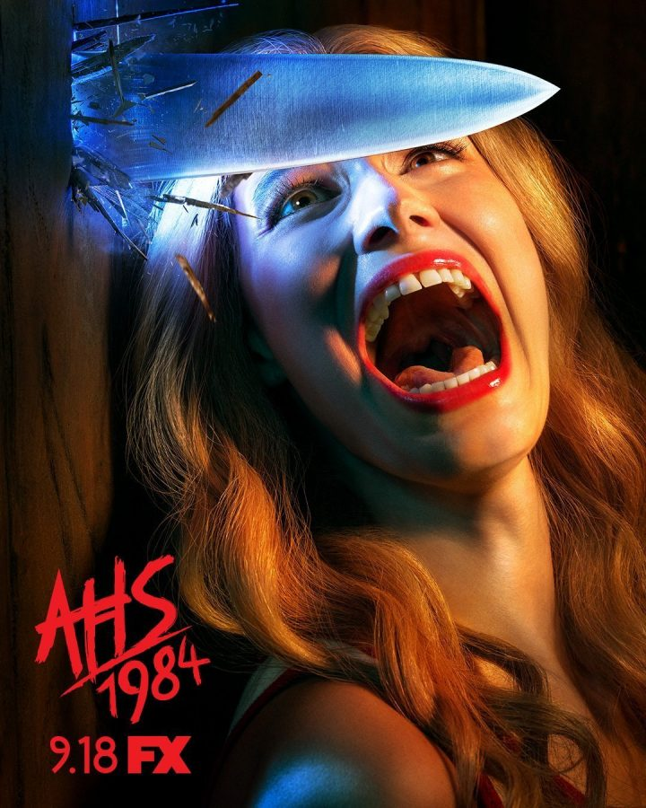 American+Horror+Story+%221984%22+promotional+poster.+Photo+courtesy+FX.