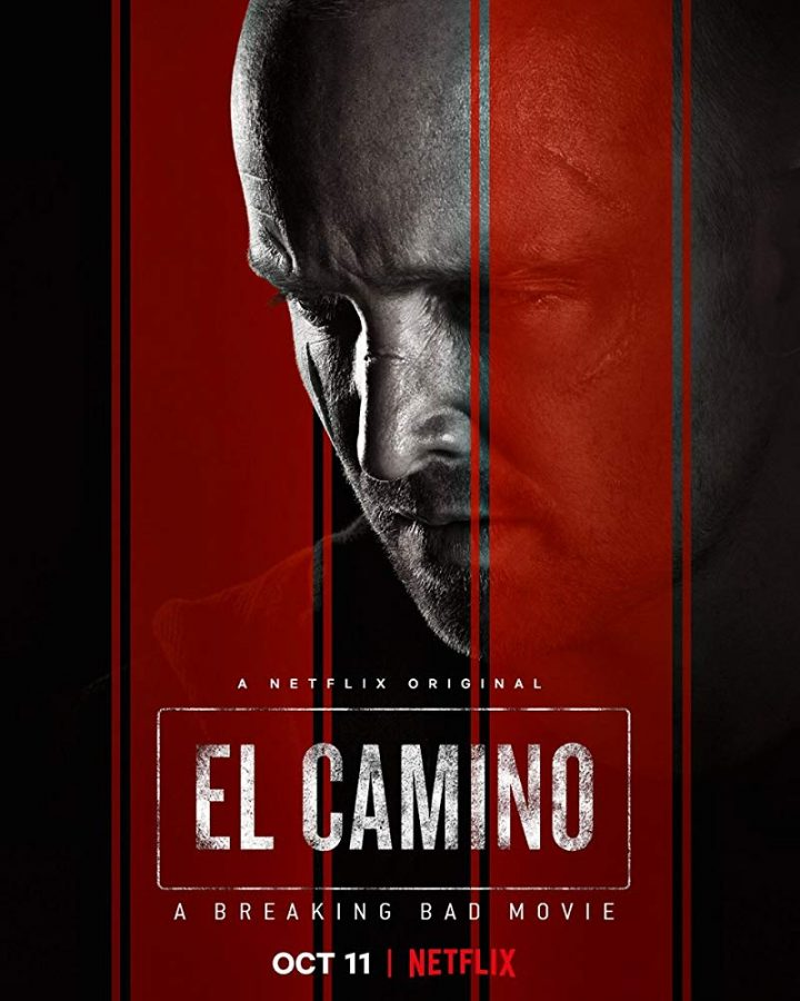 The+poster+for+Netflix%27s+Breaking+bad+movie+%22El+Camino%3A+A+Breaking+Bad+Movie+that+depicts+a+scarred+Jessie+Pinkman.+%0AImage+courtesy+of+IMDB