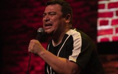 Carlos Mencia screams out for a dynamic comedy night