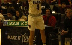 Maddy Wong pulls a jumper from the 3-point line.