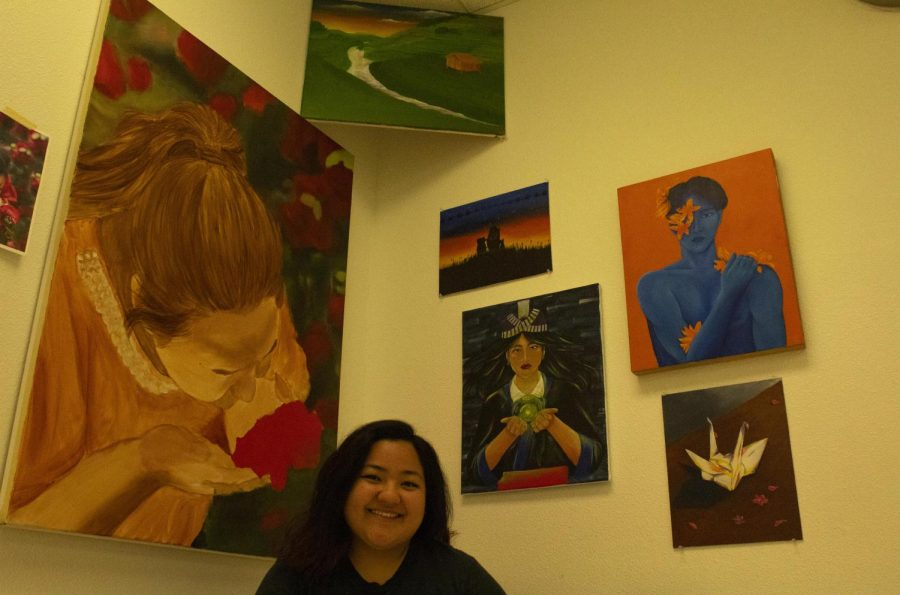 Chico State student uses art to express identity and culture