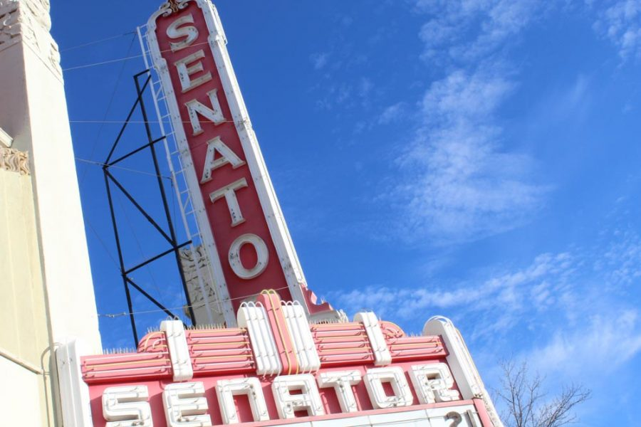 The Senator Theatre in Downtown Chico have had to postpone every event through May.