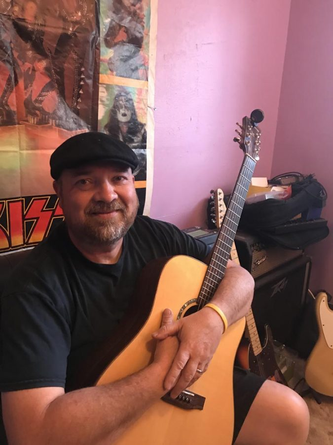 Brett Johnson, owner of Houser's Music in Oroville, says people can support local artists by