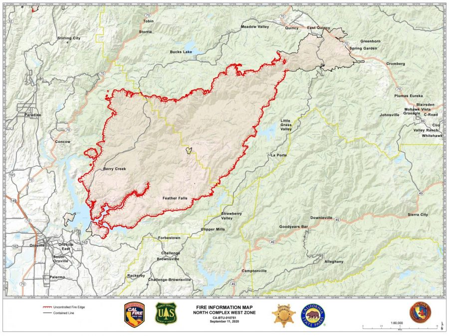 CalFire+map+of+the+North+Complex+Fire%2C+Sept.+11%2C+2020