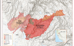 Cal Fire map of North Complex Fire, Sept. 13