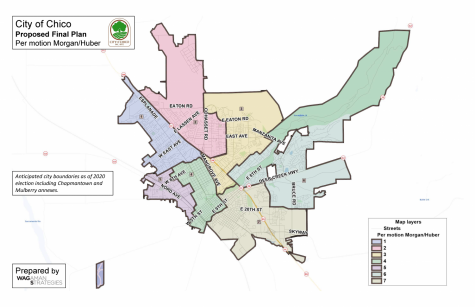 Odd-numbered districts in Chico will be up for election on Nov. 3.