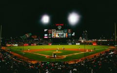A photo of Oracle Park, where the Giants play their home games
