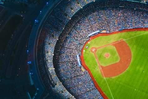An overview of Rogers Centre, home of the Toronto Blue Jays.