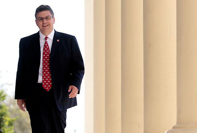 A photo of CSU chancellor select, Dr. Joseph I. Castro