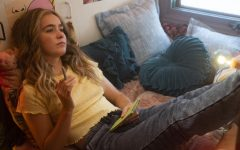 Veronica Clarke (Haley Lu Richardson) is a teenage girl who becomes pregnant and embarks on a road trip with her former best friend to become