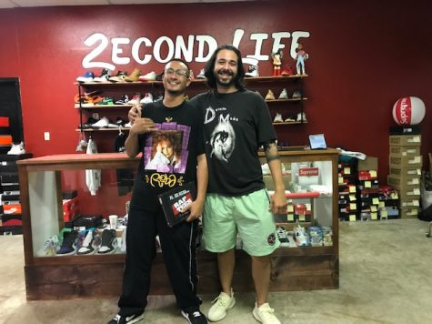 Owner Damien Herrera (Left) and business partner Brandon Gutierrez (Right) have opened Second Life on it