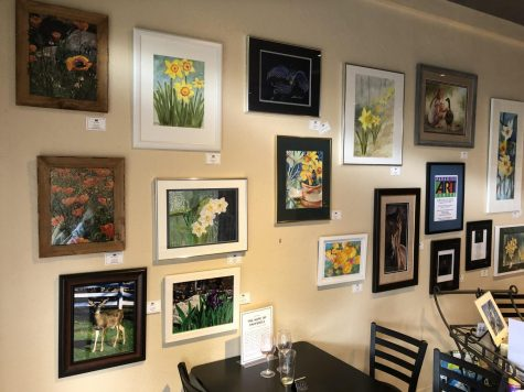 On Nov. 8, a wall of art in Nic