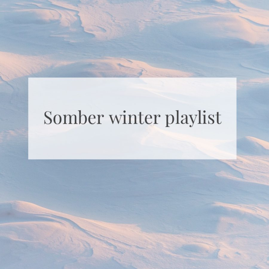 Winter can be a time for self-reflection as well as being cozy. Here are some songs to capture the different feelings cold weather can bring. Photo by Danielle Kessler.