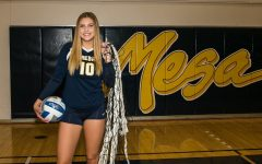 Lizzie Wilson, a new recruit to the Chico State Volleyball team who played at San Diego Mesa College. (Chico State Sports Information)