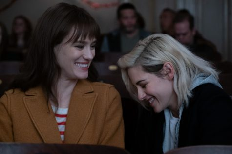 Kristen Stewart (right) and Mackenzie Davis (left) star in Clea Duvall